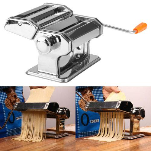 Stainless Steel Pasta Lasagne Spaghetti Tagliatelle Ravioli Maker Machine UK