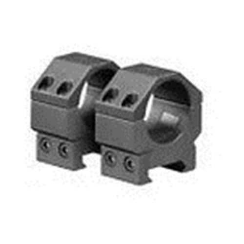 Aim Sports QWN1L 1 in. Weaver Picatinny Scope Rings, Black - Low