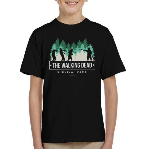 Survival Camp The Walking Dead Kid's T-Shirt