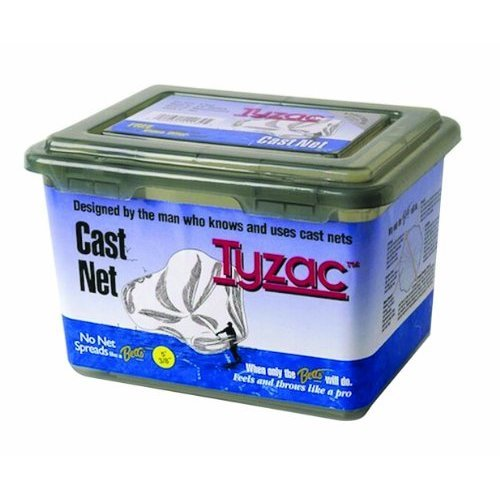 Betts 3 Foot Tyzac Nylon Cast Net with Iron Weights 3 8 Inch Mesh Boxed