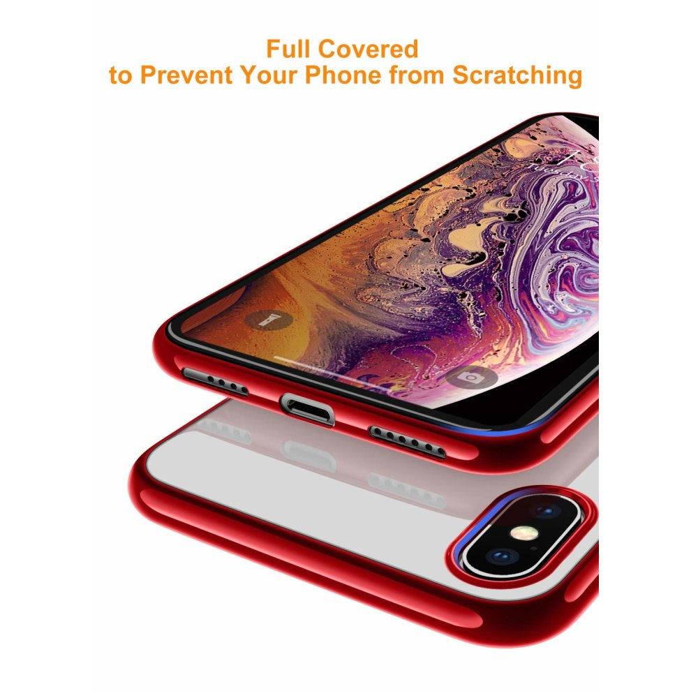 release date: 2fd06 a2eeb DTTO Case for iPhone Xs Max, Ultra Slim Soft TPU Crystal Clear Case Cover  for Apple iPhone Xs Max 6.5 Inch (2018 Released) with Reinforced...