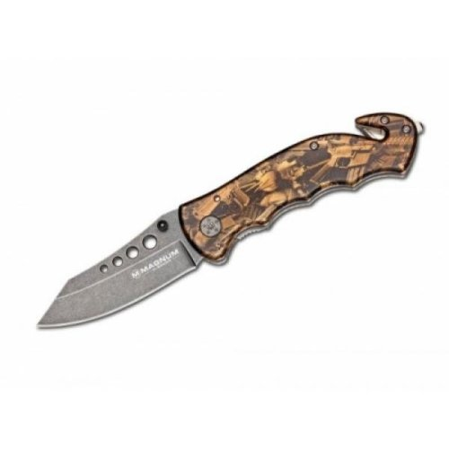 Boker Magnum Bronze Rescue Pocket Knife