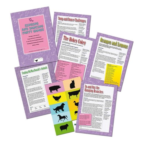 Singing and Dancing Party Games Pack