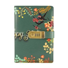Creative Password Notebook With Lock Notebook Diary Business Notepad