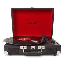 Crosley CR8005A-BK Cruiser Briefcase Style Turntable Vinyl Record Player Black
