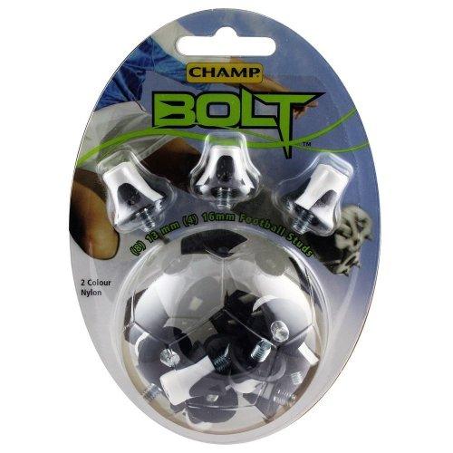 Champ Bolt 2 Colour Nylon Football/Rugby Studs