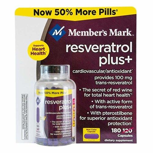 Member's Mark Reservatrol Plus 180-count Reservatrol Plus+
