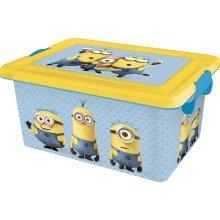 St10 - 7l Storage Container - Minions - Litre Disney Box Crate -  7l storage container minions 7L LITRE MINIONS DISNEY STORAGE CONTAINER BOX CRATE