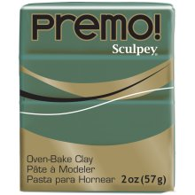 Premo Sculpey Polymer Clay 2oz-Jungle