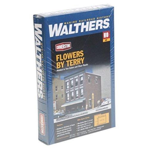 "Walthers, Inc. Flowers by Terry Kit, 3 X 4 x 4-3/8"" 7.6 X 10.2 X 11.1cm"