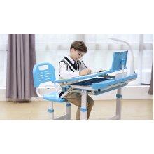 Height Adjustable Kids Study Desk Chair Ergonomic Children Table - Midi