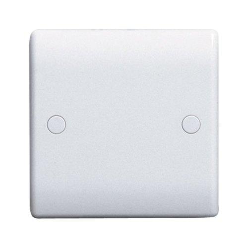 BG Electrical 894 Nexus White 1 Gang Blank Plate