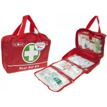 Deluxe 70pc Piece First Aid Kit For Household Work Etc -  70 piece first aid kit medical home emergency travel car bag taxi 1st workplace deluxe case