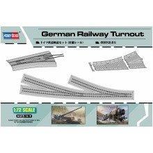 Hbb82909 - Hobbyboss 1:72 - German Railway Turnout