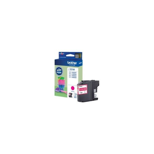 Brother Lc-221m 260pages Magenta Ink Cartridge