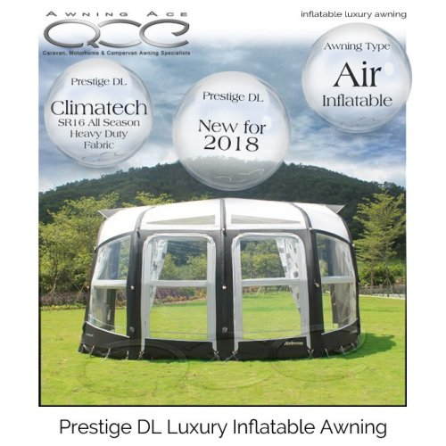Camptech Prestige DL All Season Caravan Porch Awning
