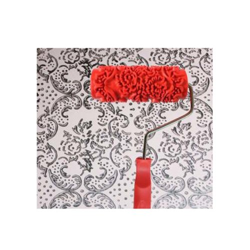 Classical Embossed Paint Roller Wall Painting Runner Wall DIY Tool, Pattern 10