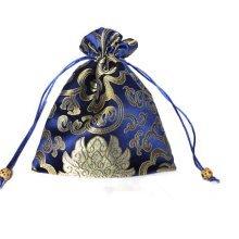 Fashion Jewelry Pouch Drawstring Bag Cloth Gift Bag 10pcs