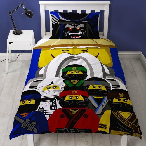 The Lego Ninjago Movie 'Guru' Single Panel Duvet Cover Bed Set