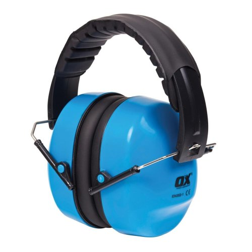 OX Lightweight Folding Collapsible Ear Defenders