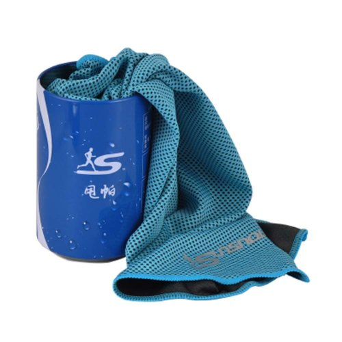 Cold Quick-drying Towel Lightweight Travel Towel Cool Sports Towels With Can, #03
