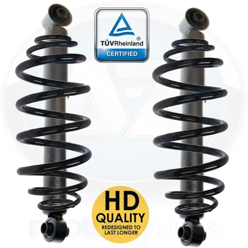 For Mercedes VITO 120 122 CDI W639 Rear suspension coil spring shockers kit new