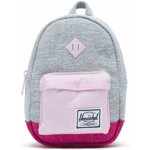 Herschel Heritage Mini Kids Backpack (Light Grey Crosshatch/Very Berry Crosshatch/Pink Lady Crossha)