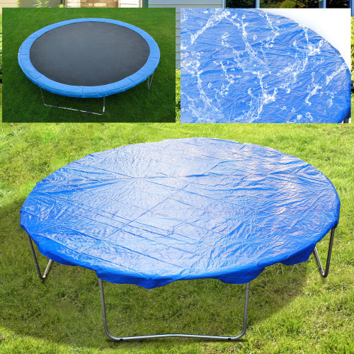 HOMCOM   Trampoline Rain Dust Cover Replacement Spare Outdoor Blue