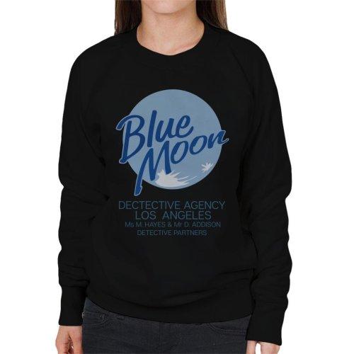 Blue Moon Detective Agency Moonlighting Women's Sweatshirt