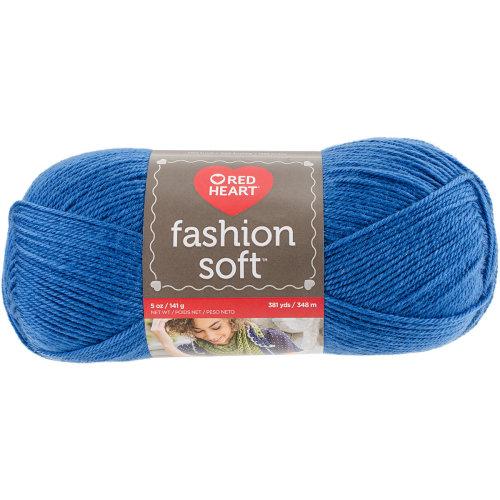 Red Heart Fashion Soft Yarn-Cobalt