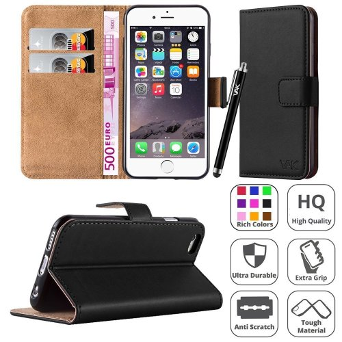 For iphone 6 / 6S Flip Wallet Leather Case Cover