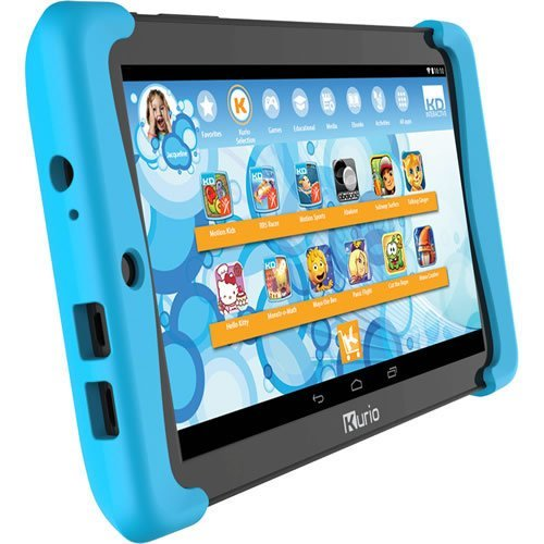 Kurio Tab 2 Motion Edition Family Android Tablet, 7 Inch, Black/Blue (C15100)