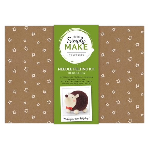 Simply Make Needle Felting Kit - Hedgehog