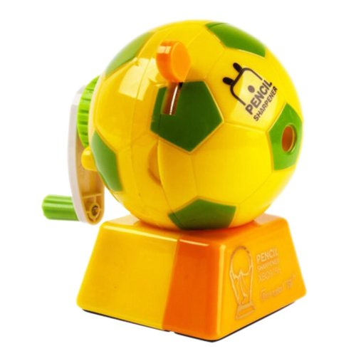 Lovely Office & School Supplies Hand Rotating Pencil Sharpener - Yellow Football