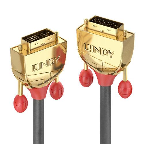 Lindy 36203 DVI cable 3 m DVI-D Grey
