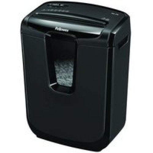 Fellowes M-7C Cross shredding Black paper shredder