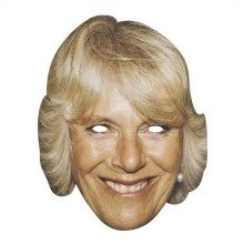 Camilla-parker Bowles Celebrity Face Mask