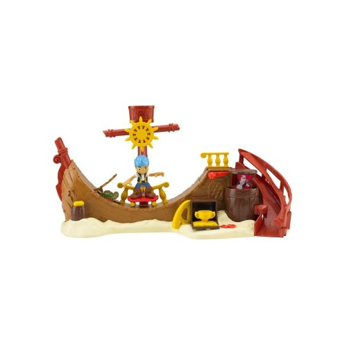 Fisher-Price Mattel Jake And The Never Land Pirates Never Land BHN17Skate Park Playset