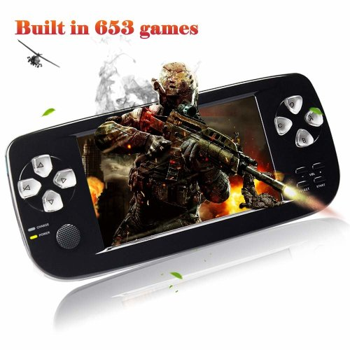 XinXu Game Console Handheld 4.3 Inch Games Retro Consoles Portable Video Games Player support 600+ Games
