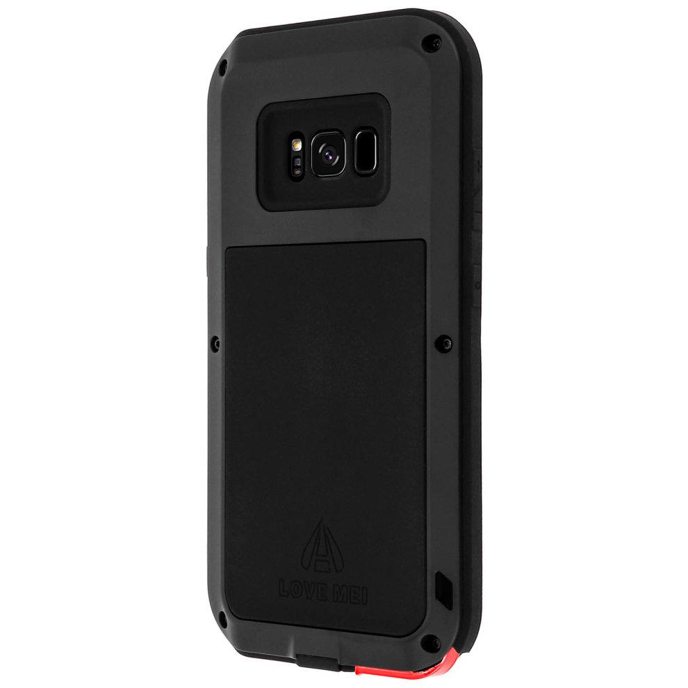 on sale 94935 fd5ef Love Mei powerful hybrid shockproof case for Samsung Galaxy S8 - Black