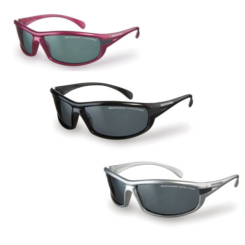 Sunwise Canoe - Floating Sunglasses - Smoke Polarised Lenses