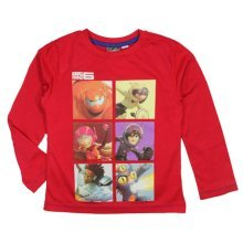 Big Hero 6 Long T Shirt - Red