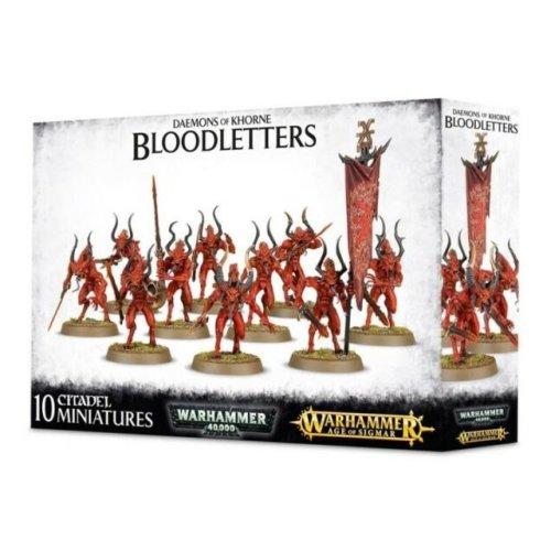 Games Workshop - Warhammer - Daemons of Khorne Bloodletters
