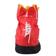 Petal Design Dance Dags Latin Ballet Drawstring Backpack Supply, Red