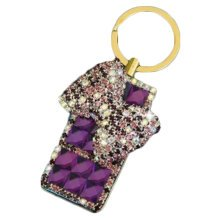 Rechargeable Lighter Stylish Rhinestone Windproof Cigarette Lighters with USB, A6