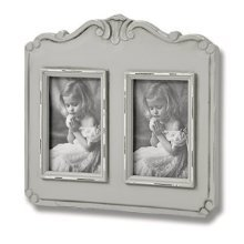 Fleur 2 Picture 4 x 6 Photo Frames -  fleur 2 picture photo holds special memory inside 4 x 6 frames