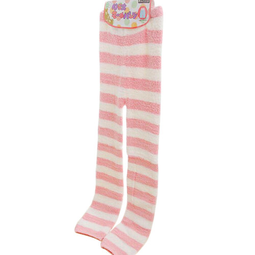 Casual Warm Sleepwear Elastic Bottom Pajamas Pants Coral Cashmere Pants-A3
