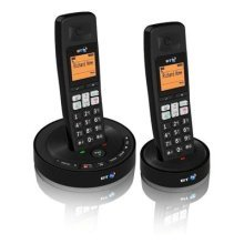 BT BT3510 Trio Cordless Phone with Answering Machine - Black