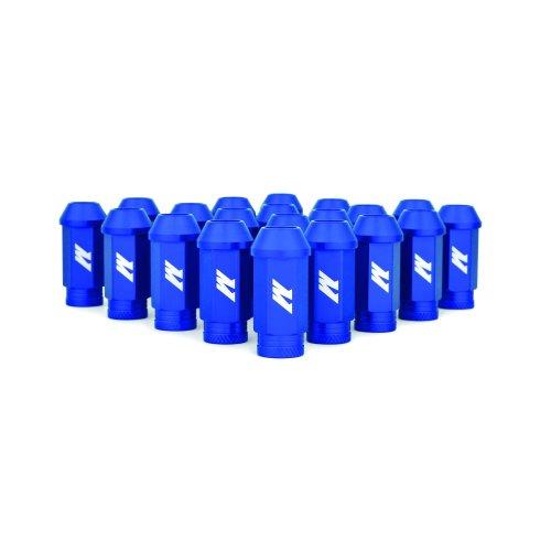 Mishimoto MMLG-15-LOCKBL  Aluminium Locking Lug Nuts, M12 x 1.5, Blue