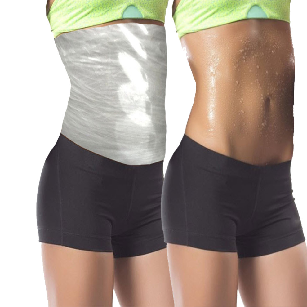 it works 4 inch loss HOT DEAL SPECIAL OFFER lipo body wraps 4  clay/mud/cream applications 4 thermal sauna wraps aids in cellulite  reduction stretch